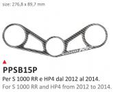 PRINT Naklejka na półkę kierownicy BMW S1000RR 2012/2014