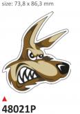 Naklejka PRINT Coyote (2 szt.)
