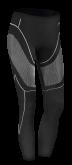 Spodnie termoaktywne damskie BUSE F 140 czarne