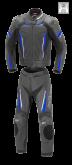 Kombinezon motocyklowy BUSE Imola czarno-niebieski 48
