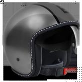 Kask Motocyklowy MOMO BLADE Metaliczny Antracyt / Czarny