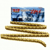 Łańcuch napędowy DID 50ZVMX G&G ilość ogniw 108 (X-ringowy, wzmocniony, złoty)
