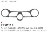 PRINT Naklejka na półkę kierownicy Ducati 1199 e 1299 Ducati Panigale S 2012/2016