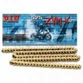 Łańcuch napędowy DID 525ZVMXG&G ilość ogniw: 118 (X-ring hiper wzmocniony )