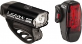 Lampki rowerowe zestaw p+t LEZYNE Mini KTV Drive PRO 300 / 75lm