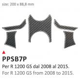 Naklejka na półkę kierownicy PRINT Bmw R 1200 GS 2008-2014