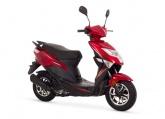 Skuter Romet 727 Premium Czerwony
