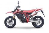Motocykl Romet CRS Fi125 EURO 4 Supermoto Czerwony