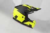 Kask Motocyklowy LAZER OR3 Rocky (kol. Czarny - Żółty) rozm. XL