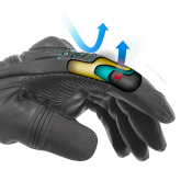 Rękawice motocyklowe BUSE ST Match czarne