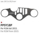 PRINT Naklejka na półkę kierownicy Yamaha R1M 2015/2016