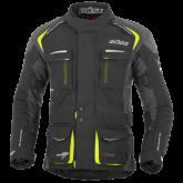 Kurtka motocyklowa BUSE Trento czarno-neonowa