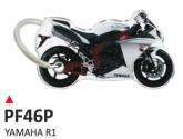 PRINT Dwustronny wypukły brelok na klucze Yamaha R1