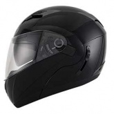 Kask motocyklowy KYT CONVAIR czarny metalik