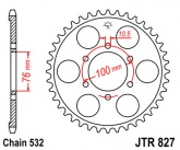 Zębatka napędowa tylna JTR827.52 - 52 zębów