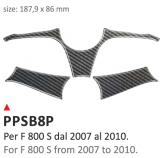 Naklejka na półkę kierownicy PRINT Bmw F 800 S 2007-2010