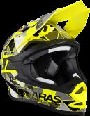 Kask motocyklowy LAZER OR1 Aras Freestyle Replica żółty fluo czarny/czerwony