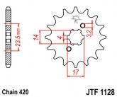 Zębatka napędowa przednia JTF1128.12 - 12 zębów