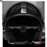 Kask Motocyklowy MOMO FGTR EVO Czarny Metalic / Chrom