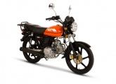 Motocykl Romet Ogar 125 pomarańczowy