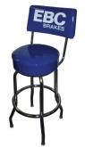 Krzesło barowe z logiem EBC
