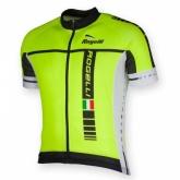 Koszulka rowerowa ROGELLI Umbria żółto-czarna rozm. XXL