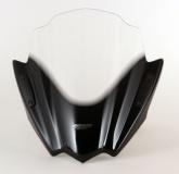 Uniwersalna szyba do motocykli bez owiewek MRA, forma RNB, przyciemniana