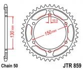 Zębatka napędowa tylna JTR859.49 - 49 zębów