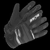 Rękawice motocyklowe dziecięce BUSE Fresh czarno-białe