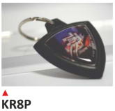 PRINT brelok na klucze, z dwustronną etykietą - TRIUMPH