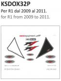 PRINT naklejki na motocykl Yamaha R1 2009/2011
