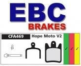 Klocki rowerowe EBC (spiekane) Hope Moto V2 CFA469HH