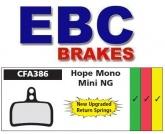 Klocki rowerowe EBC (spiekane) Hope Caliper Mono Mini CFA386HH