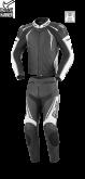 Kombinezon motocyklowy BUSE Silverstone Pro czarno-biały 48