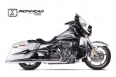 Tłumik IXIL HARLEY DAVIDSON TOURING ROAD KING 2006-2016 typ HC2-1C (SLIP ON, LEFT MUFFLER)