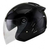 Kask motocyklowy KYT HELLCAT czarny