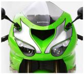 PRINT naklejki na motocykl Kawasaki ZX10R 2006 białe