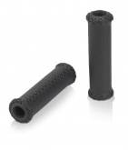 Chwyty kierownicy XLC GR-G12 128mm czarne skórzane