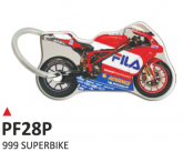 PRINT double face dome key-holder 999 superbike