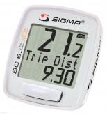 Licznik rowerowy SIGMA BC 8.12 bezprzewodowy biały