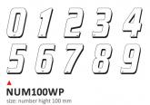 PRINT kit 10 white numbers