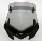 Uniwersalna szyba do motocykli bez owiewek MRA, forma VFVTZ, przyciemniana