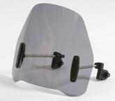 Uniwersalna szyba do motocykli bez owiewek MRA, forma RO, czarna