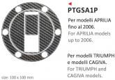 PRINT naklejka na wlew paliwa Triumph e Cagiva