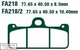 Klocki hamulcowe EBC EPFA218/2HH Extreme Pro (kpl. na 1 tarcze)