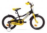 Rower Arkus Tom 16 B Czarno-Żółty