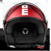 Kask Motocyklowy MOMO FGTR CLASSIC Czerwony Mat / Biały