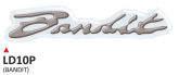 Naklejka 3D PRINT Bandit (2 szt.)