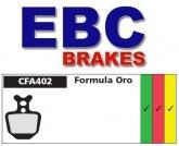 Klocki rowerowe EBC (organiczne wyczynowe) Formula Oro CFA402R