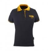 Koszulka polo GAERNE G-POLO 1962 damska czarno-żółta S